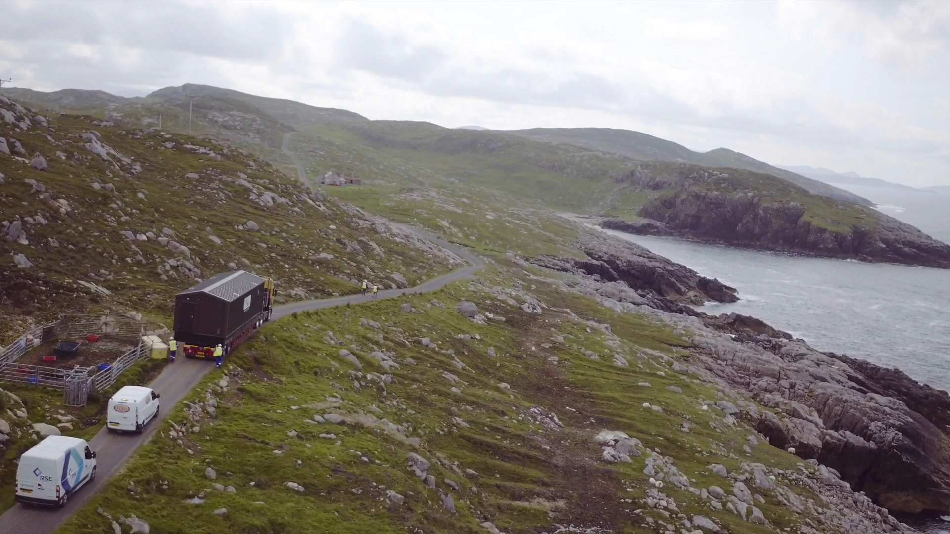 North Harris Wtw Travelling To Site