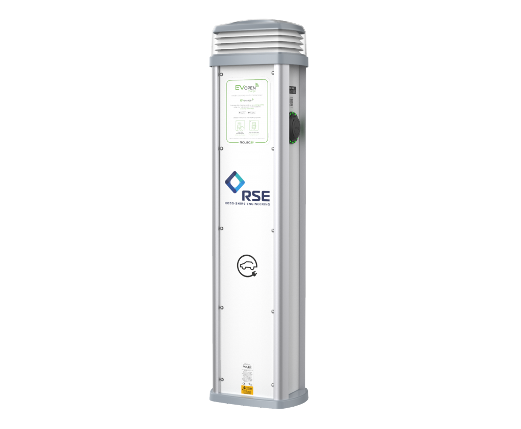 Ross Shire Engineering Quantum Ev Charge Online White V2